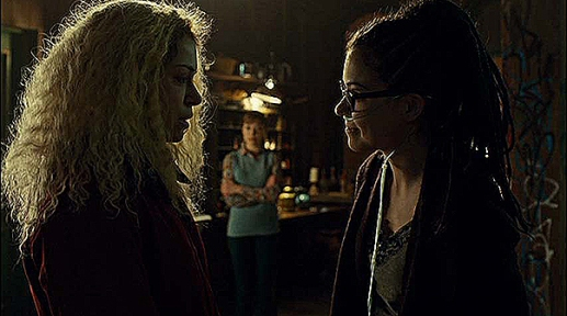 Helena meets Cosima as Alison watches