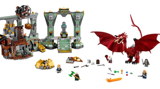 Hobbit Battle of Five Armies Lonely Mountain LEGO SDCC 2014