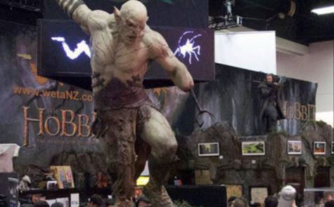 Hobbit booth Weta SDCC 2014 Azog