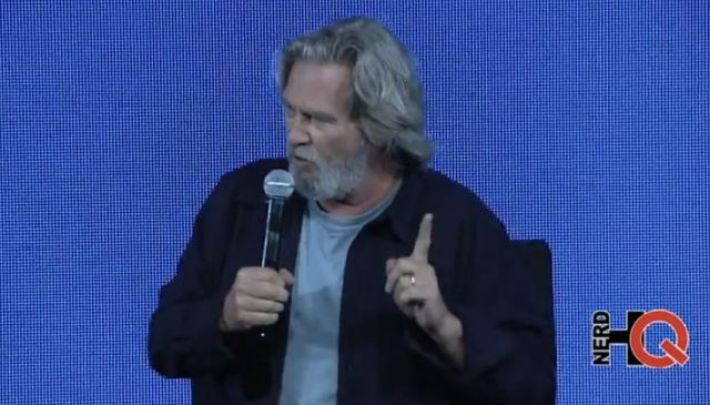 Jeff Bridges at Nerd HQ 2014