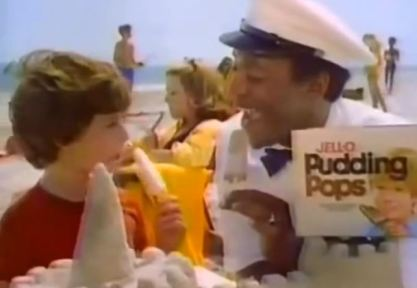 Jell-O pudding pops ad Bill Cosby
