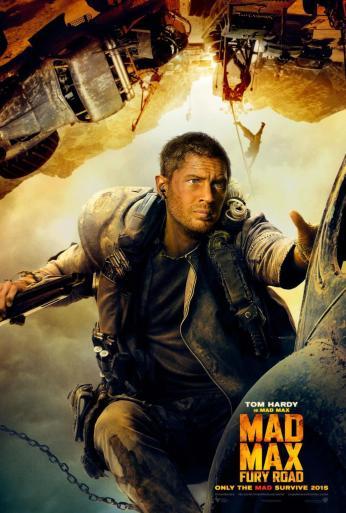 Mad Max Fury Road Max character poster