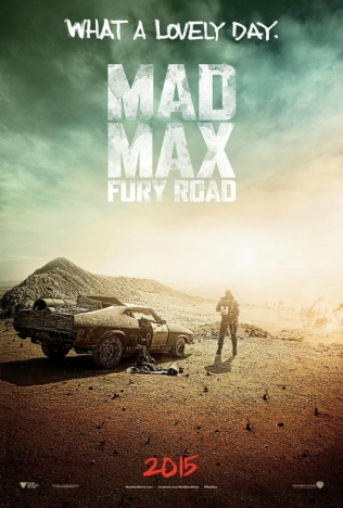 Mad Max Fury Road poster SDCC 2014