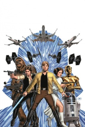 Marvel Star Wars 1 Cassaday cover art