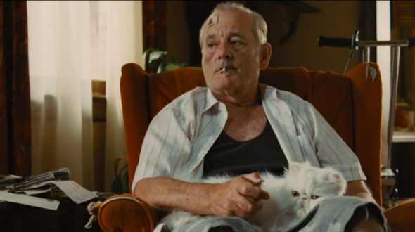 Murray and cat