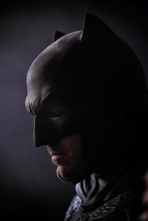New Ben Affleck as Batman SDCC 2014