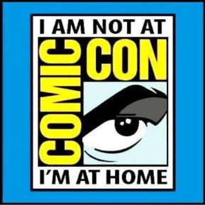 Not at Comic Con logo