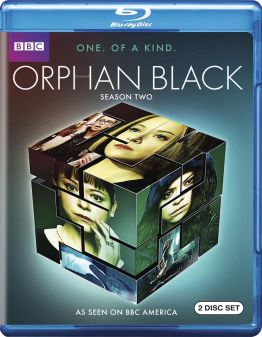 orphan black season 2 blu-ray cover