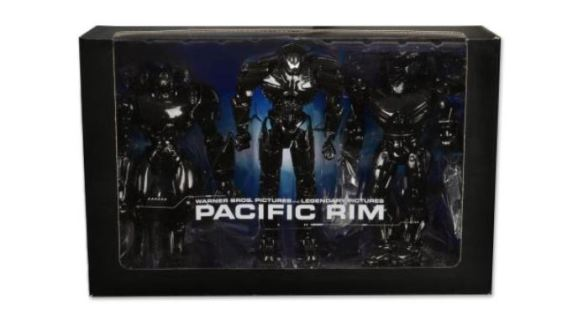 Pacific Rim NECA 3145 exclsuvie figure 3pack