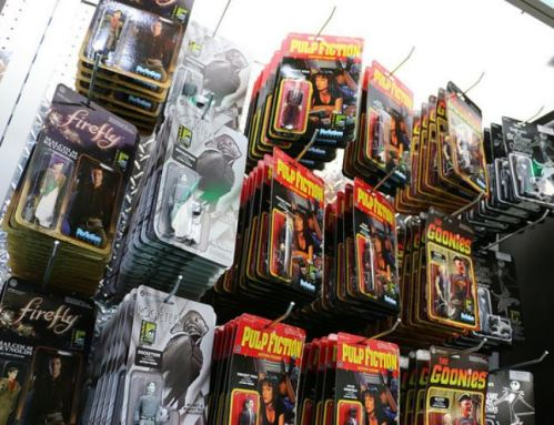 ReAction figures at SDCC 2014