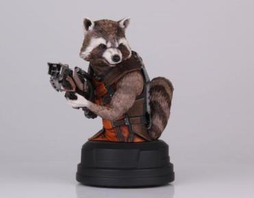 Rocket Raccoon SDCC 2014 bust Gentle Giant