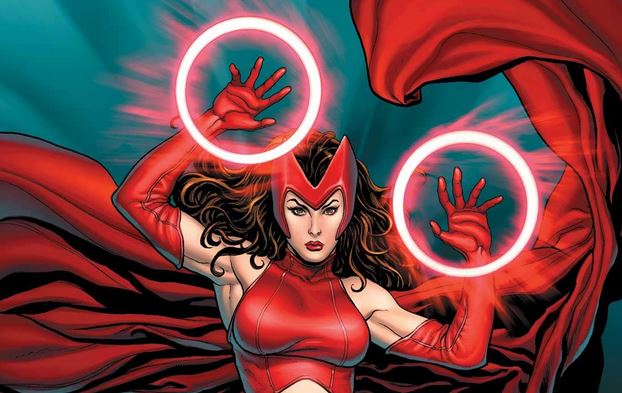 Scarlet Witch by Frank Cho
