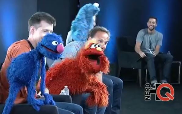 Sesame Street at NerdHQ