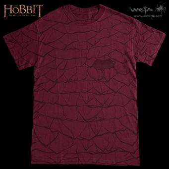 Smaug scales T-shirt Weta SDCC 2014