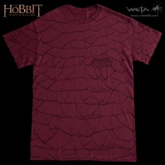 Smaug scales T-shirt Weta SDCC 2014