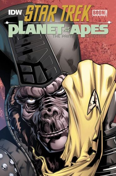 Star Trek Planet of the Apes BOOM IDW Crossover SDCC 2014