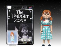 Talky Tina figure SDCC 2014 color exclusive
