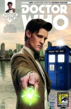 Titan Comics 11th Doctor #1 variant cover SDCC 2014