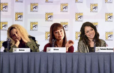 Too funny Orphan Black web image
