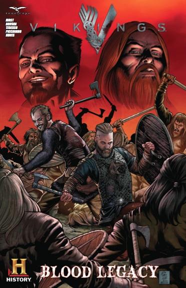 Vikings Blood Legacy SDCC 2014