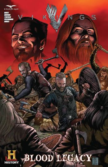 Vikings comic book SDCC 2014