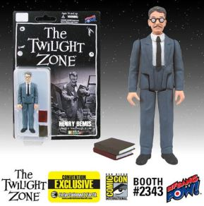 Burgess Meredith Henry Bemis Twilight Zone Kenner style figure SDCC 2014 Entertainment Earth