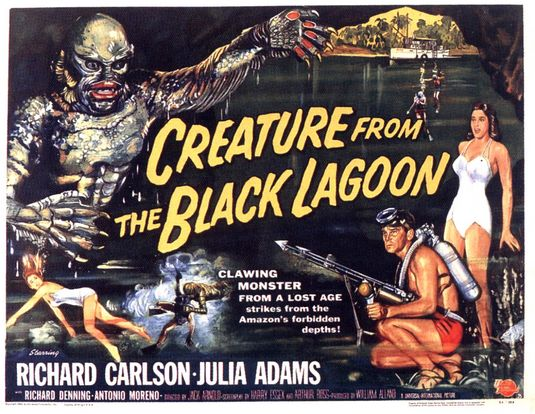 creature from black lagoon poster