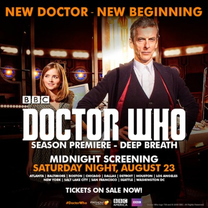 Doctor Who 12 cities showings