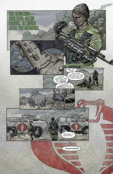 Fall of GI Joe IDW preview