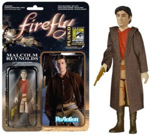 Firefly Browncoat Exclusive Malcolm Reynolds SDCC 2014 ReAction variant