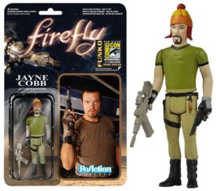 Firefly Jayne Cobb variant with hat ReAction figure Entertainment Earth SDCC 2014