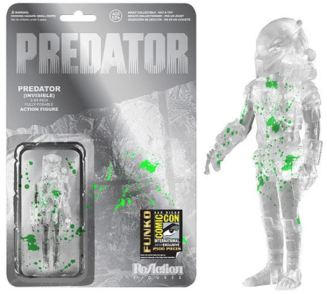 Green Blooded cloaked Predator SDCC 2014 Entertainment Earth variant