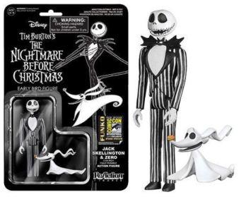Jack Skellington Nightmare Before Christmas SDCC 2014 black white variant