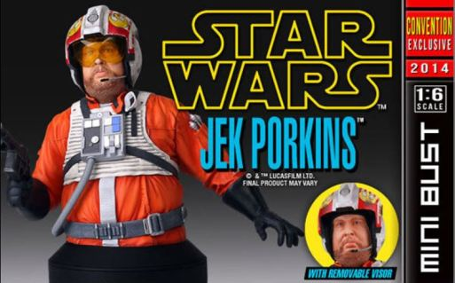 Jek Porkins Star Wars Gentle Giant SDCC 2014