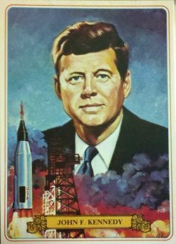 JF Kennedy bread card 1976