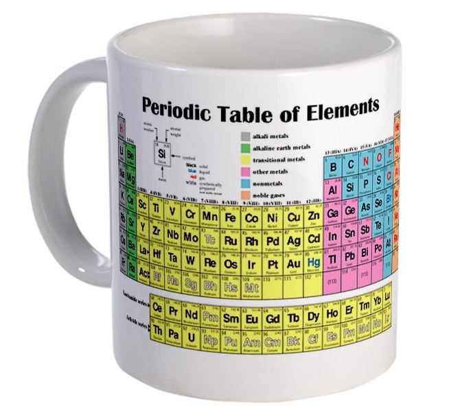 The disappearing spoon that way cool periodic table borg periodic table mug urtaz Gallery