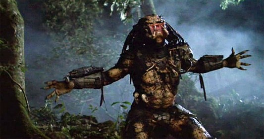 Predator scene