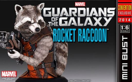 Rocket Raccoon SDCC 2013 Gentle Giant