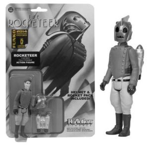 SDCC 2014 Rocketeer black and white variant