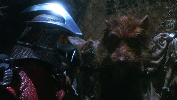 Shredder and Splinter