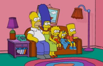 Simpsons couch