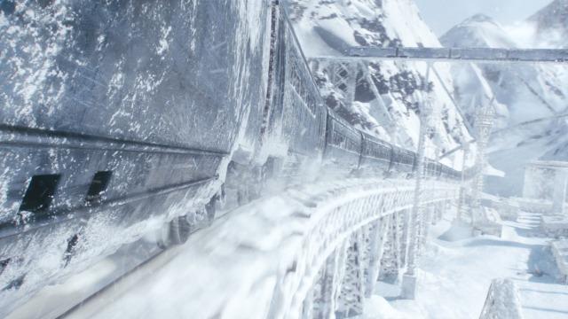 Snowpiercer train