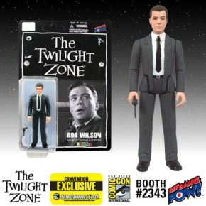 Twilight Zone Bob Wilson William Shatner Kenner style figure SDCC 2014