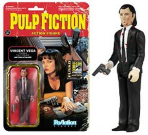 Vincent Vega Pulp Fiction ReAction figure bloody variant SDCC 2014