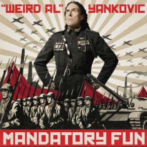 Weird Al Yankovic Mandatory Fun CD cover