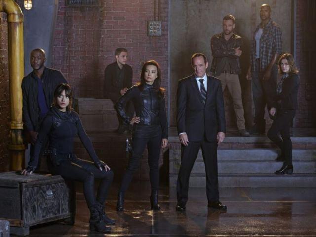 Agents of SHIELD season two cast