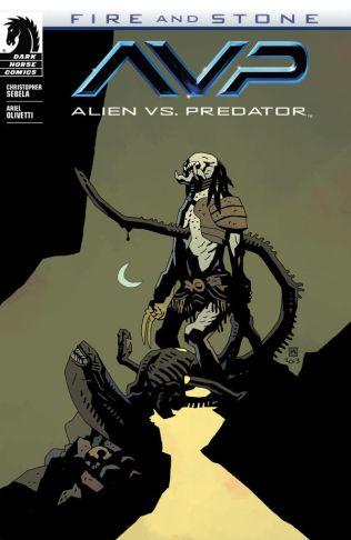 Aliens v Predator Fire and Stone 1 Mignola