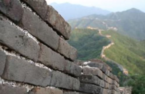 barriers - Great wall of China