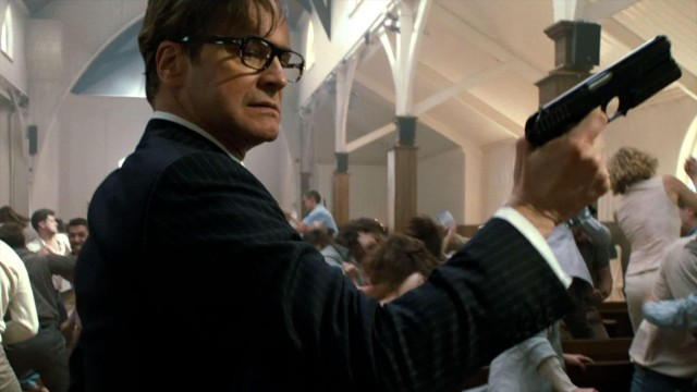 Colin Firth british spy