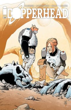 Copperhead Image Comics Issue 1 cover